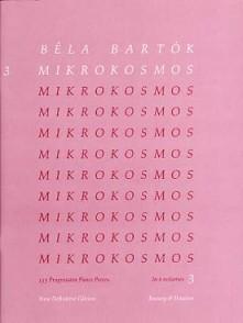 BARTOK B. MIKROKOSMOS VOL 3 PIANO