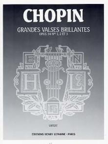 CHOPIN F. GRANDES VALSES BRILLANTES OP 34 PIANO