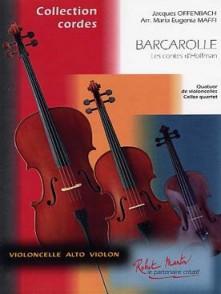 OFFENBACH J. BARCAROLLE 4 VIOLONCELLES