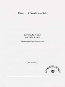 CHOSTAKOVITCH D. SERENADE VALSE VIOLON