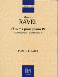 RAVEL M. OEUVRES POUR PIANO VOL 4