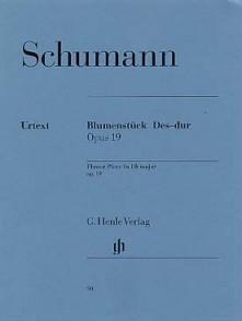 SCHUMANN R. BLUMENSTUCK OP 19 PIANO