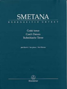 SMETANA D. DANSES TCHEQUES PIANO