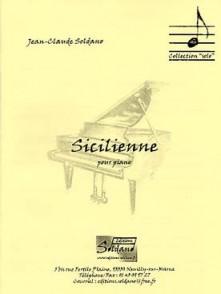 SOLDANO J.C. SICILIENNE PIANO