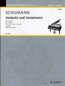 SCHUMANN R. ANDANTE UND VARIATIONEN 2 PIANOS