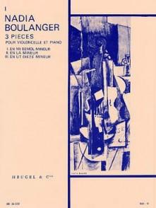BOULANGER N. 3 PIECES: N°1 VIOLONCELLE