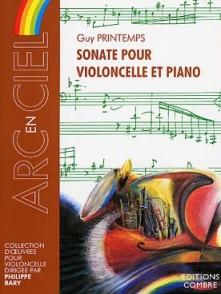 PRINTEMPS G. SONATE VIOLONCELLE