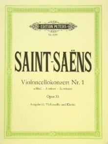 SAINT-SAENS C. 1ER CONCERTO OP 33 VIOLONCELLE