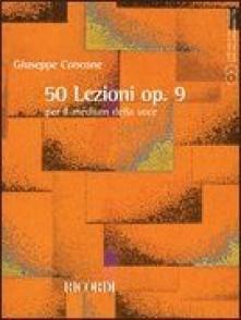 CONCONE G. 50 LEZIONI OP 9 CHANT