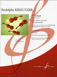 KREUTZER R. 1RE SONATE VIOLON