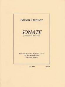 DENISOV  E. SONATE SAXO ALTO