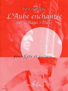 "SHANKAR R. L'AUBE ENCHANTEE SUR LE RAGA ""TODI"" FLUTE GUITARE"