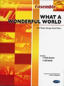 THIELE -WEISSE WHAT A WONDERFUL WORLD ENSEMBLE VARIABLE