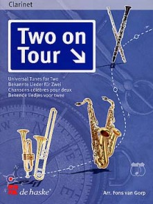 TWO ON TOURS 2 CLARINETTES