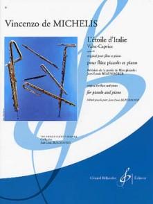 MICHELIS (DE) V. L'ETOILE D'ITALIE FLUTE PICCOLO