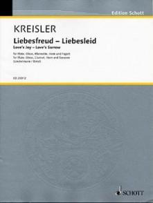 KREISLER F. LIEBESFREUD LIEBESLEID QUINTETTE VENT