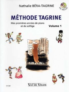 BERA-TAGRINE N. METHODE TAGRINE VOL 1 PIANO