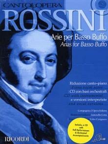 ROSSINI G. ARIE PER BASSO BUFFO CHANT