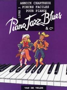 CHARTREUX A. PIANO JAZZ BLUES VOL 3