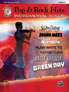POP & ROCK INSTRUMENTAL SOLOS PIANO ACCOMPAGNEMENT