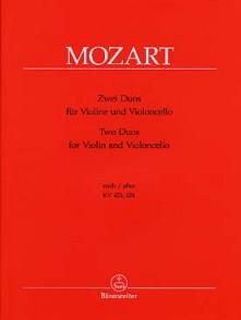 MOZART W.A. DUO KV 423/424 VIOLON ET VIOLONCELLE