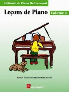 HAL LEONARD LECONS DE PIANO VOL 4