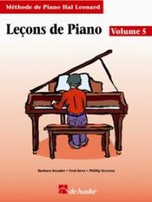 HAL LEONARD LECONS DE PIANO VOL 5