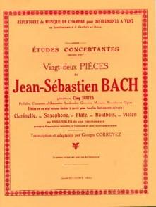 BACH J.S. 22 PIECES CLARINETTE