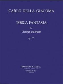 DELLA GIACOMA C. TOSCA FANTASIA CLARINETTE