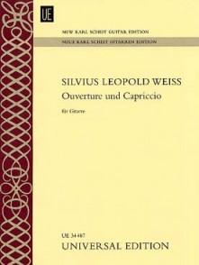 WEISS S.L. OUVERTURE ET CAPRICCIO GUITARE