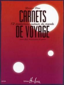 RIOU J. CARNETS DE VOYAGE FLUTE