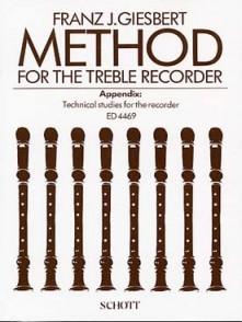 GIESBERT F.J. METHOD FOR THE TREBLE RECORDER