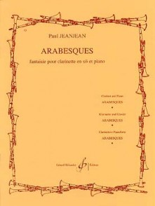 JEANJEAN P. ARABESQUES CLARINETTE