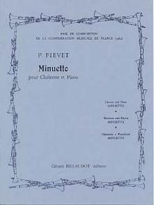 FIEVET P. MINUETTO CLARINETTE