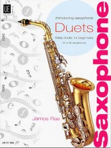 RAE J. INTRODUCING SAXOPHONE DUOS