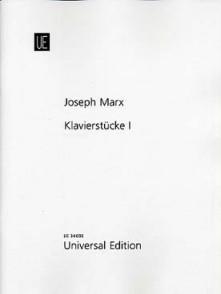 MARX J. KLAVIERSTUCKE I PIANO