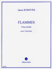 KOMIVES J. FLAMMES CLARINETTE