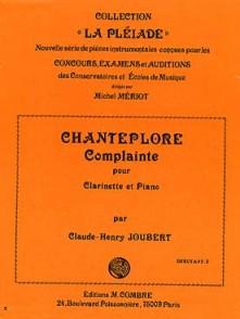 JOUBERT C.H. CHANTEPLORE CLARINETTE