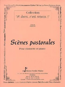 PROUST P. SCENES PASTORALES CLARINETTE SIB