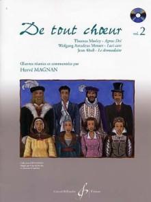 MAGNAN H. DE TOUT CHOEUR VOL 2