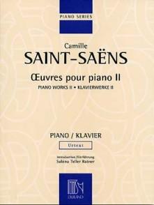 SAINT-SAENS C. OEUVRES POUR PIANO VOL 2