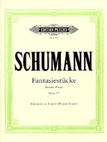 SCHUMANN R. PIECES DE FANTAISIE OP 73 CLARINETTE