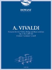 VIVALDI A. CONCERTO OP 3 N°8 2 VIOLONS