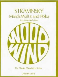 STRAVINSKY I. MARCH, WALTZ AND POLKA CLARINETTE