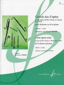 GRANDS AIRS D'OPERA VOL 1 CLARINETTE