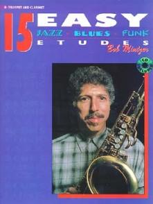 MINTZER B. 15 EASY JAZZ BLUES FUNK ETUDES SAXO BB