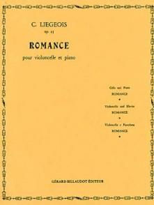LIEGEOIS C. ROMANCE OP 25 N°1 VIOLONCELLE