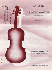 HAENDEL G.F. L'HARMONIEUX FORGERON ALTO