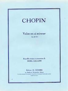 CHOPIN F. VALSE OP 69 N°2 PIANO