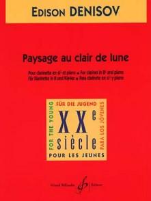 DENISOV E. PAYSAGE AU CLAIR DE LUNE CLARINETTE